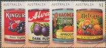AUS SG4864-7 Vintage Jam Labels set of 4
